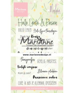 CS1043 Marleen's Hallo Lente & Pasen