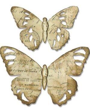 Sizzix Bigz Die – Tattered Butterfly 664166 Tim Holtz