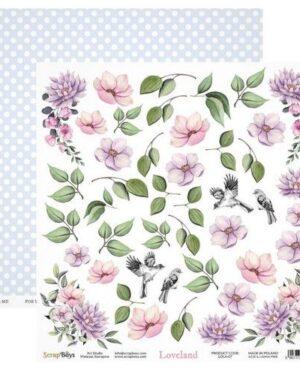 ScrapBoys Loveland paper cut out elements