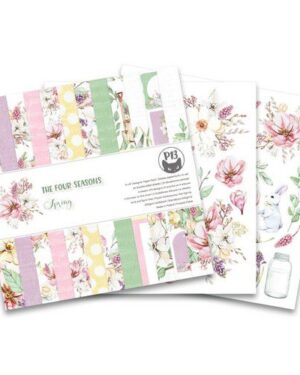 Piatek13 – Paper pad The Four Seasons – Spring 12×12 P13-SPR-08