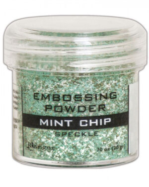 Ranger Embossing Speckle Powder 34ml – Mint Chip EPJ68679