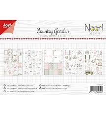 Country Garden design sheets