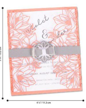 663692 Sizzix Thinlits Die Set – 7PK Floral Wrap
