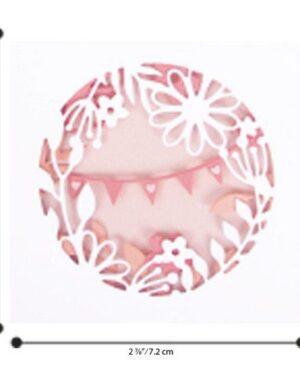 Sizzix Thinlits Die Set – 7PK Romantic Layers 663859 Olivia Rose