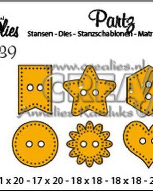 Partz39 buttons