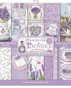 Stamperia Provence 8×8 Inch Paper Pack (SBBS10)