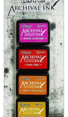 Archival Mini Ink set 1