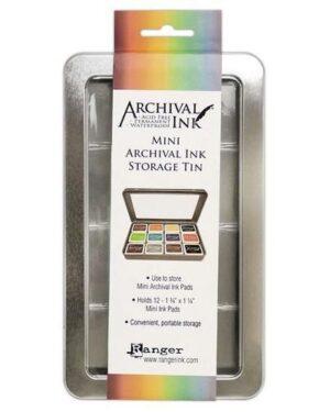 Archival Mini Ink storage