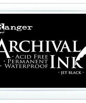 Archival jet black
