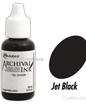 Archival jet black navul