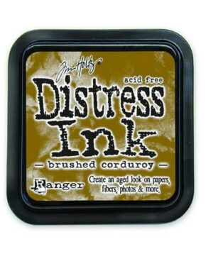 Ranger Distress Inks pad – brushed corduroy stamp pad TIM21421 Tim Holtz