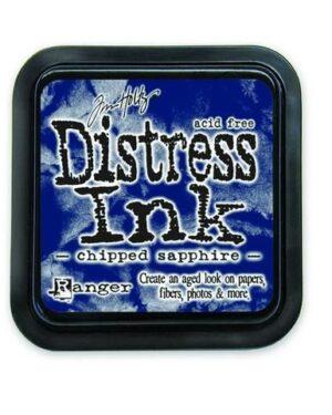 Ranger Distress Inks pad – chipped sapphire stamp pad TIM27119 Tim Holtz