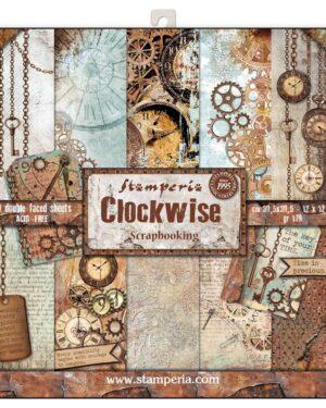 Clockwise 12 x 12 inch