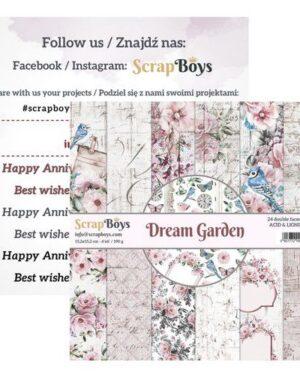 Dream Garden 15 x 15 cm