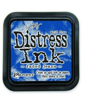 Ranger Distress Inks pad – faded jeans stamp pad TIM21452 Tim Holtz