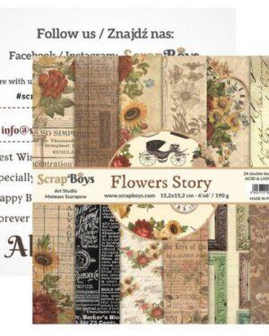Flowers Story 15 x 15 cm