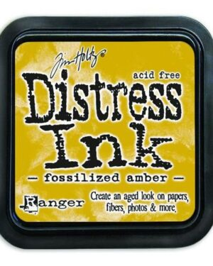 Ranger Distress Inks pad – fossilized amber TIM43225 Tim Holtz
