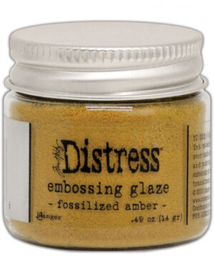 Embossing Glaze fosslized amber