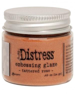 Embossing Glaze tattered rose