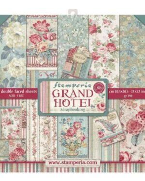 Grand hotel 12 x 12 inch