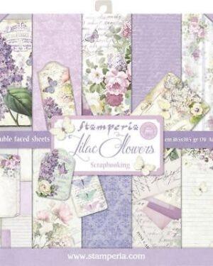 Stamperia Lilac 12×12 Inch Paper Pack (SBBL21)