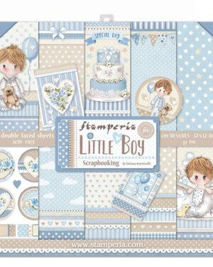 Stamperia Little Boy 12×12 Inch Paper Pack (SBBL68)