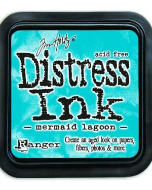 Ranger Distress Inks pad – mermaid lagoon TIM43256 Tim Holtz