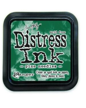 Ranger Distress Inks pad – pine needles stamp pad TIM21476 Tim Holtz