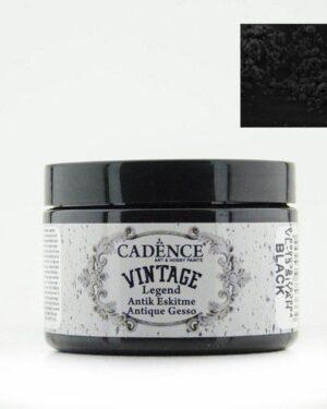 Cadence Vintage Legend gesso Zwart 01 025 0013 0150 150 ml