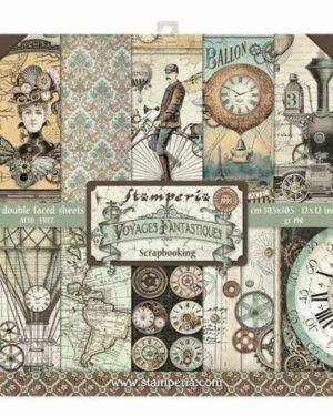 Voyages Fantastiques 12 x 12 inch