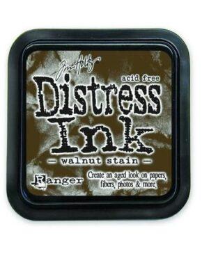 Ranger Distress Inks pad – walnut stain stamp pad TIM19534 Tim Holtz