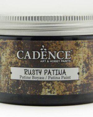 Cadence rusty patina verf Grijs zwart 01 072 0009 0150 150 ml