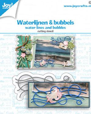 6002/1477 Waterlijnen & bubbels