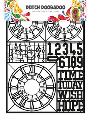 Paper art Clocks