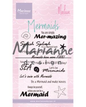CS1025 Mermaid sentiments by Marleen