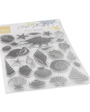 CS1061 Colorfull Silhouette Sea Shells