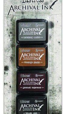 Archival Mini Ink set 3