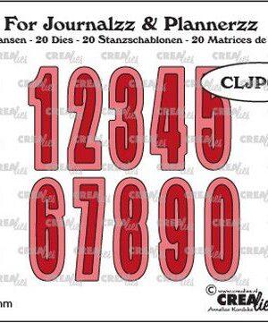 CLJP609 Cijfers met schaduw