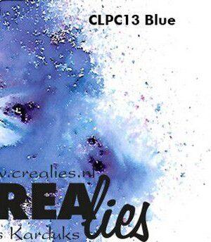 Crealies Blauw