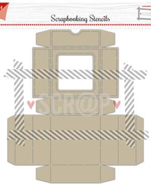 6005/0003 – Noor – Scrap box met klapdeksel
