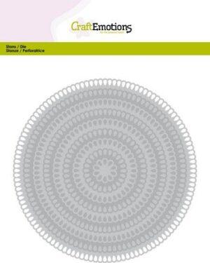 115633/0941 Big Nesting Die – cirkels scalop XL drop Card