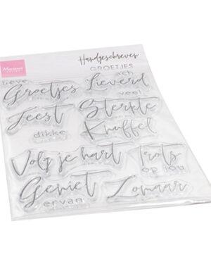 CS1063 Handgeschreven Groetjes