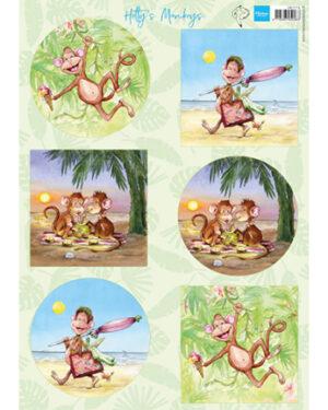 HK1710 – Hetty's Monkeys
