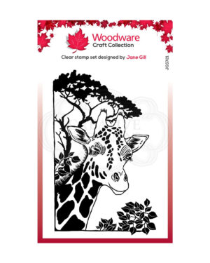 JGS721 Creative Expressions • Woodware clear singles lino cut
