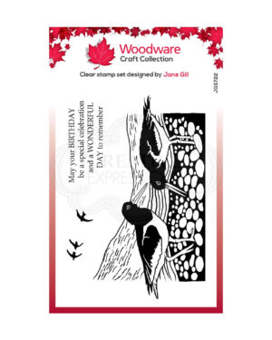 JGS722 Creative Expressions • Woodware clear singles lino cut