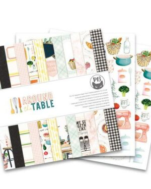 Piatek13 – Paper pad Around the table 12×12 P13-TAB-08 12×12