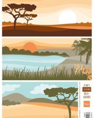 AK0071 Eline's Savanne backgrounds