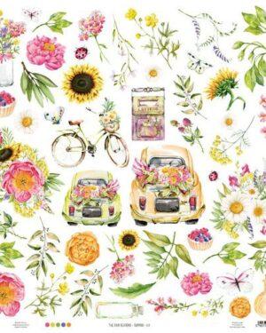 Piatek13 – Paper The Four Seasons – Summer 07 P13-SUM-07 12×12