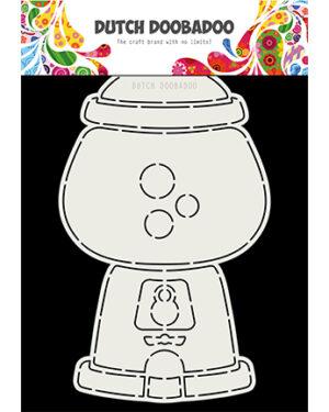 470.713.802 – DDBD Card Art Kauwgomballen automaat