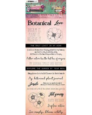 CBJL03 – Chipboard Elements, Just Lou Botanical Collection nr.03